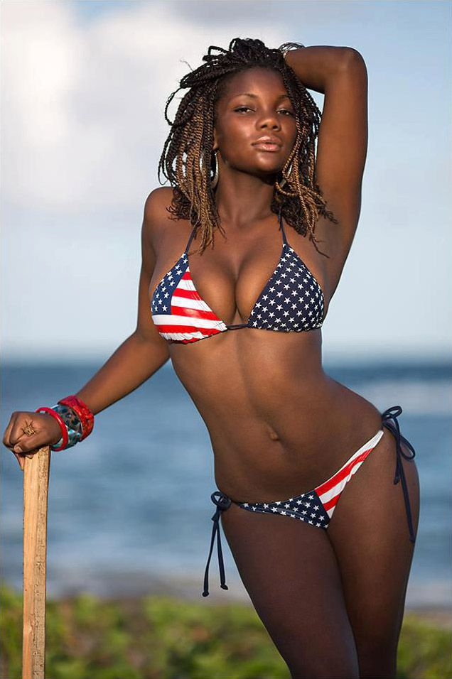 Hot Ebony Girls In Bikini