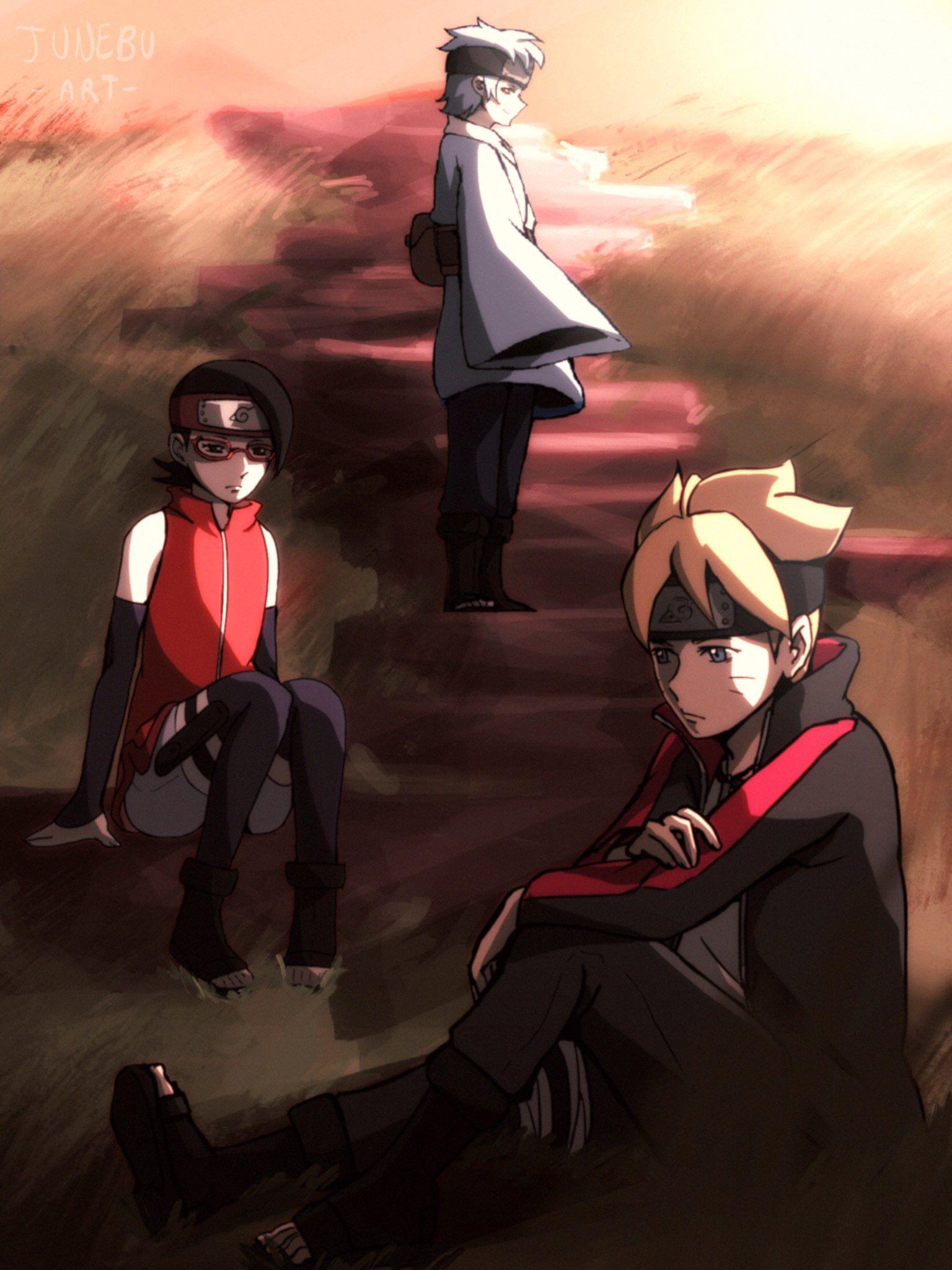 Sunset Anime naruto, Anime, Naruto