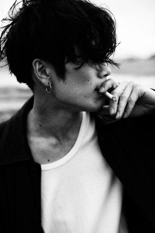 Tumblr Boy With Black Hair