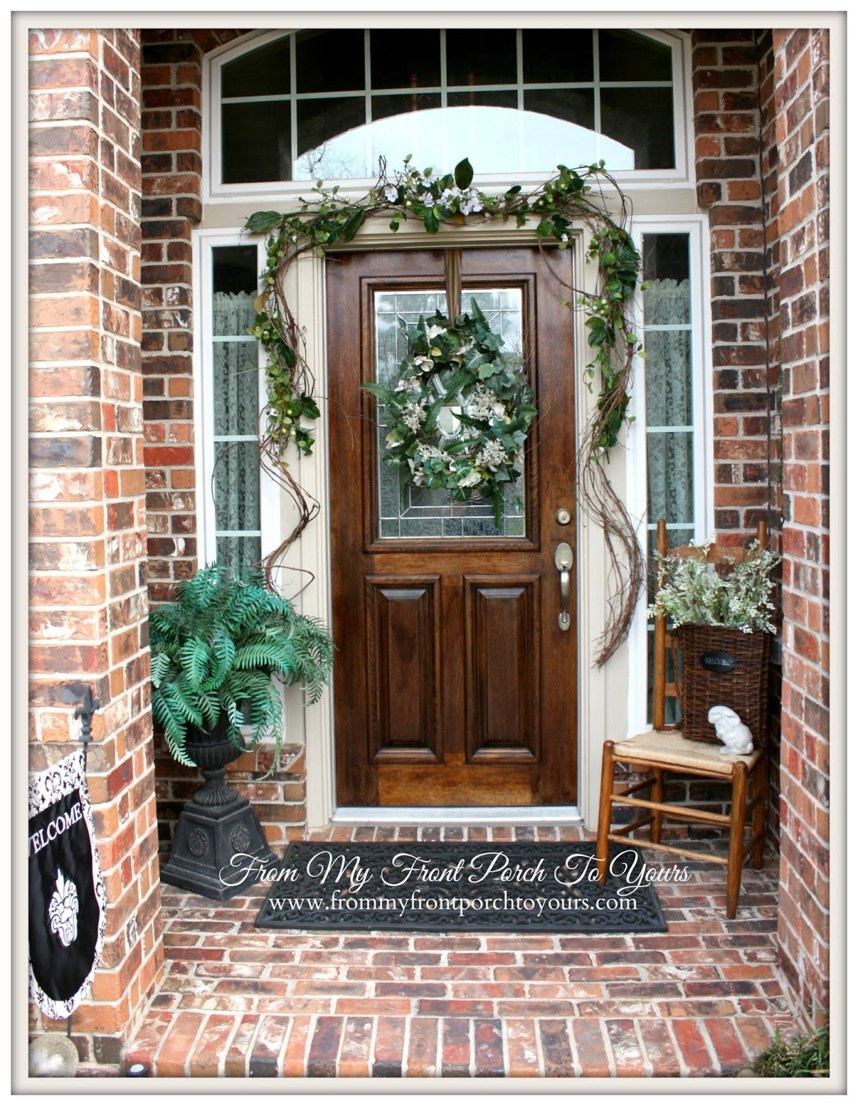 From My Front Porch to Yours - Home Tour | Front porches, Porch and ...