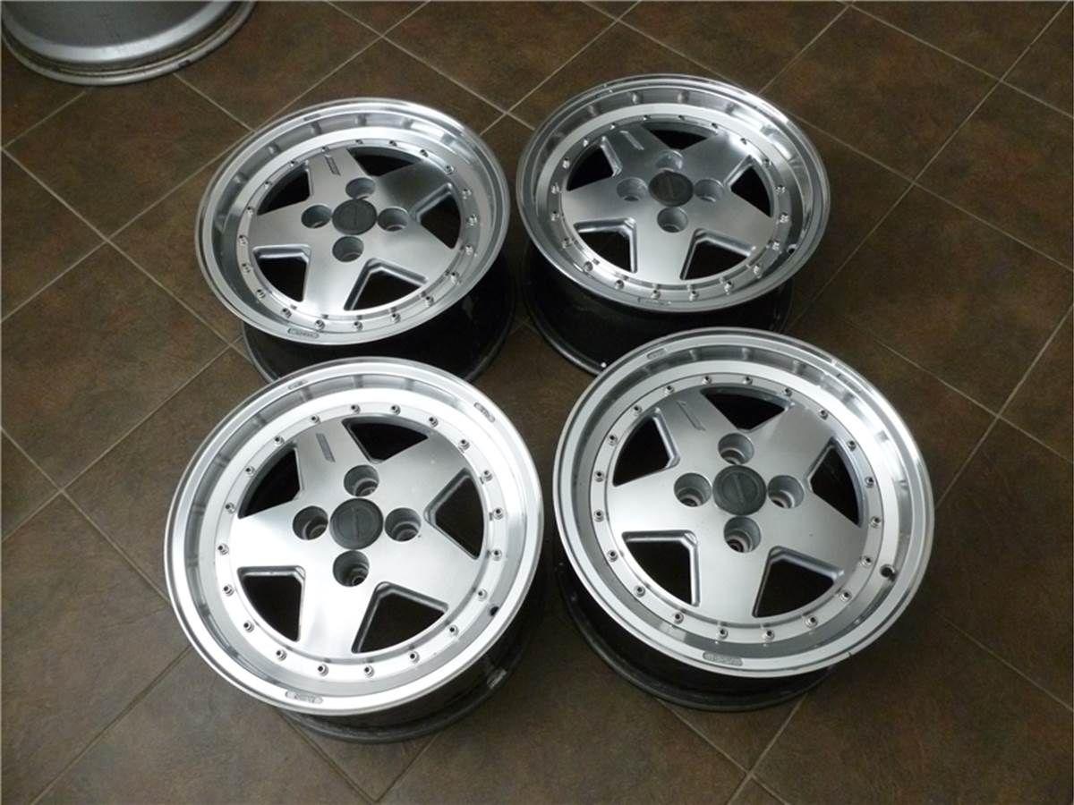 Zender Sport wheels (one piece) 15x7 et20, 4x100, 57,1cb