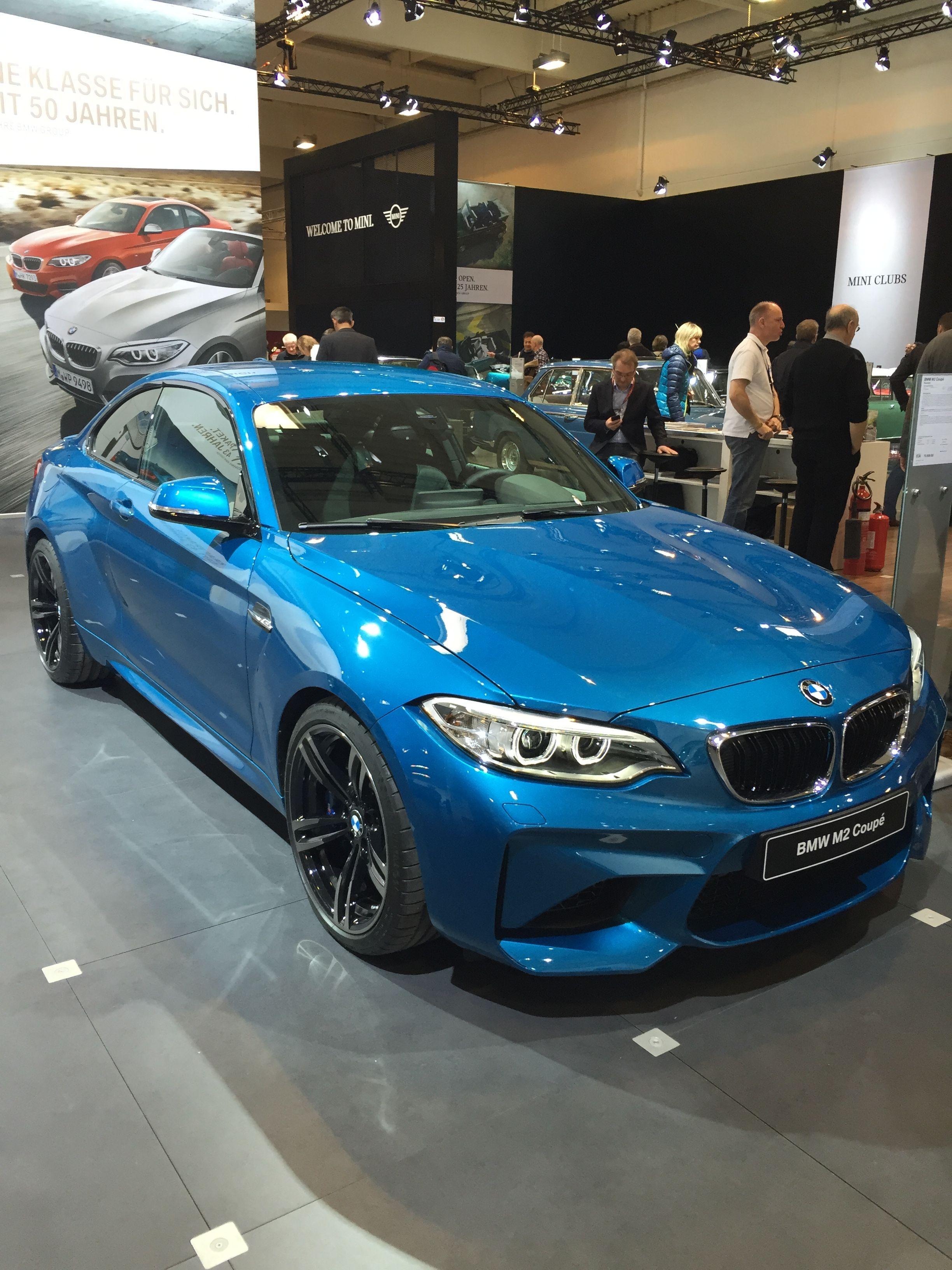 Bmw at essen techno classica car show in germany 2016