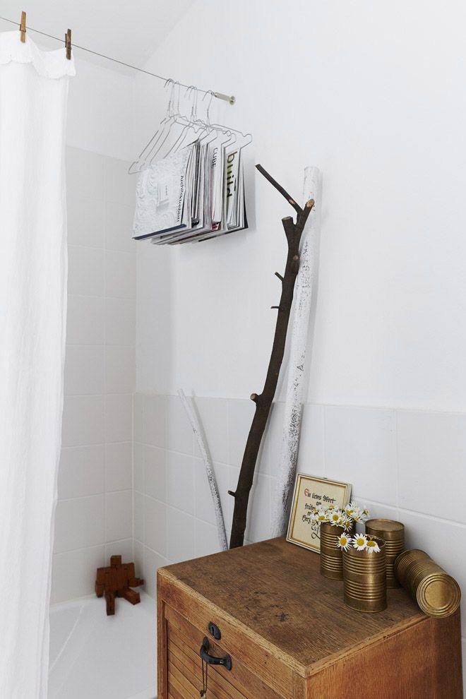 Ein Duschvorhang von Oma DIY Minza will Sommer home