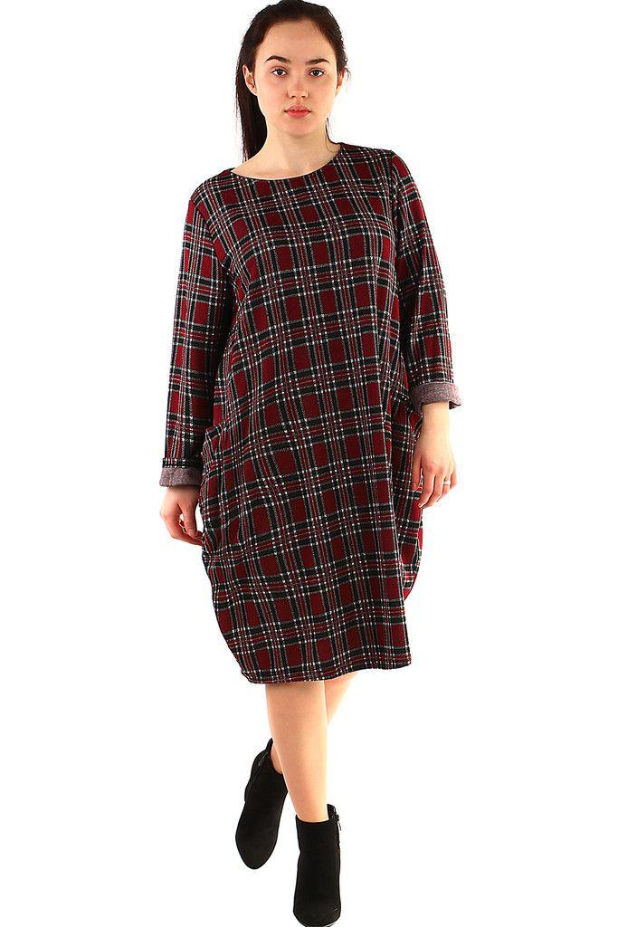 a59ce01d80f4 Dámské oversized kárované šaty - koupit online na Glara.cz  saty  šaty
