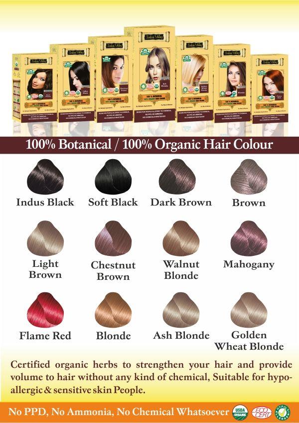 Organichaircolor Chemicalfreehaircolor Safehaircolor