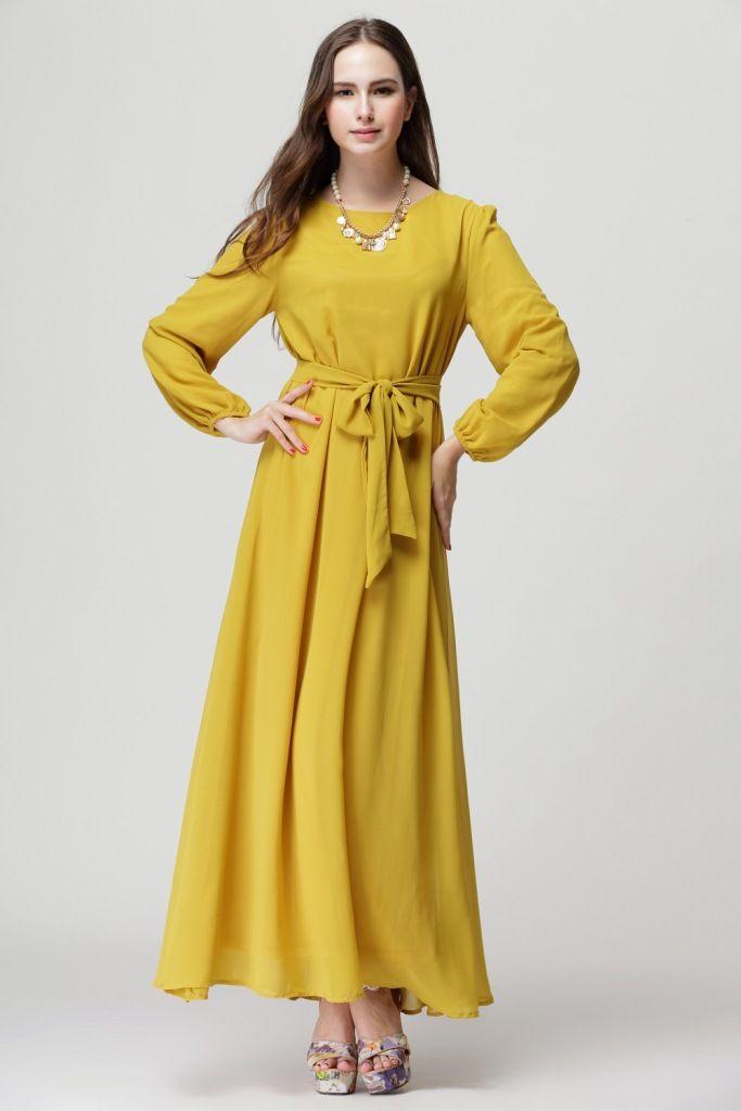 0cca7364c Cheap 2015 musulmana abaya dubai vestido musulmán hijab turca ropa mujer  moda gasa mayorista abaya caftán vestido musulmán