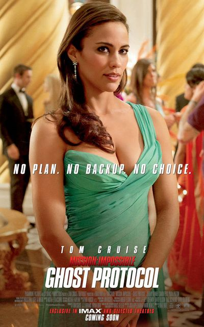 Paula Patton As Jane Carter Mission Impossible Ghost Protocol Ghost Protocol Paula Patton Mission Impossible Ghost