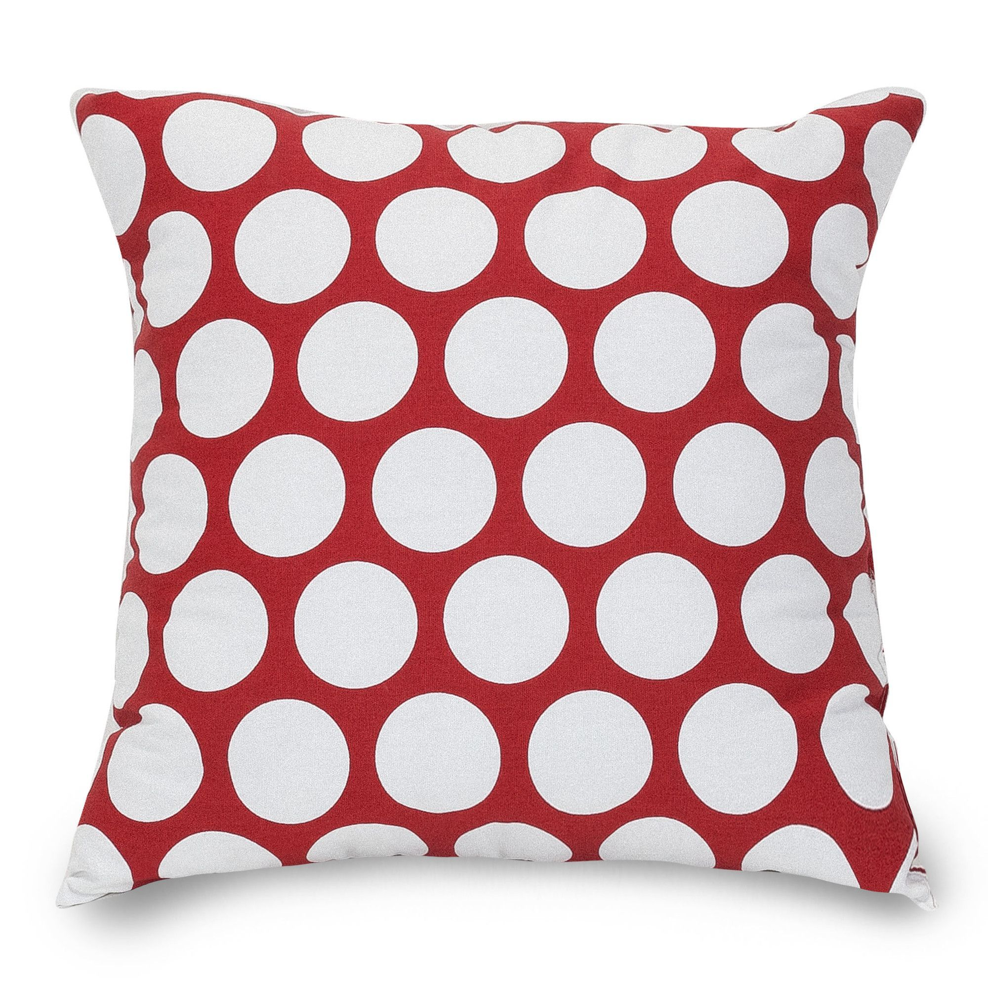 Trudy Cotton Throw Pillow | Dots, Polka dots and Large throw pillows - Polka Dot Large Throw Pillow