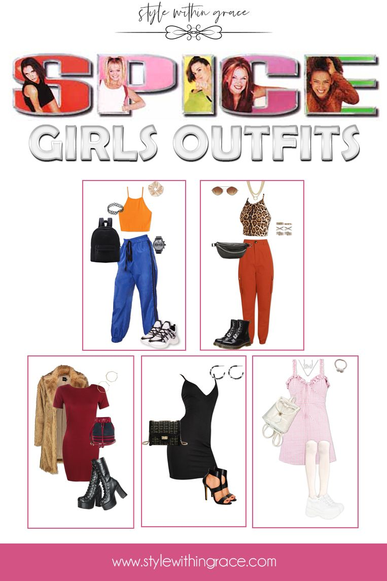Spice Girls Inspired Outfits - Style Within Grace