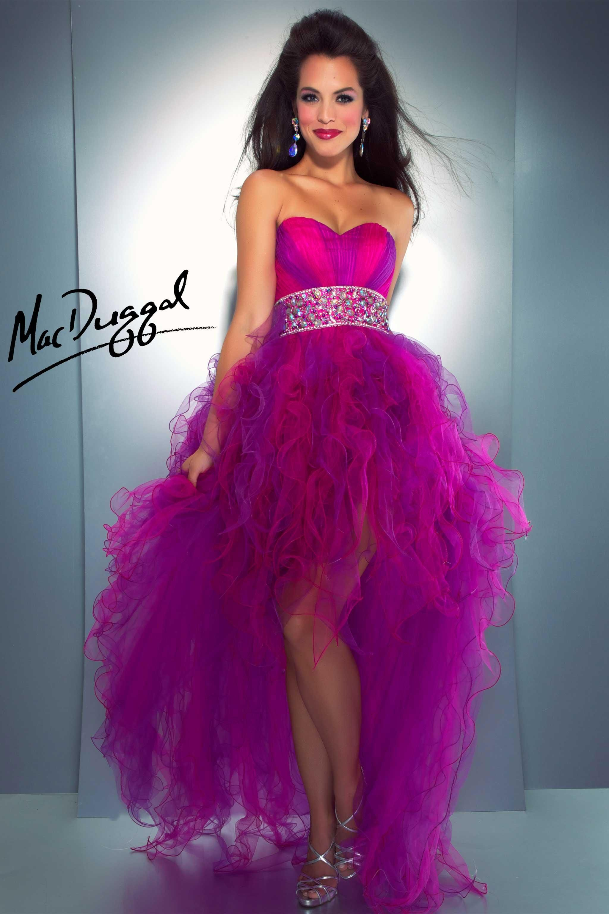 Neon Purple Prom Dress | Neon | Pinterest | Quinceañera, Vestidos de ...