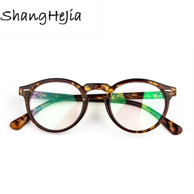 69d6c20c404 2018 Fashion Women Glasses Frame Men Eyeglasses Frame Vintage Round Clear  Lens Glasses Optical Spectacle Frame Price   8.95   FREE Shipping   onlineshopping ...