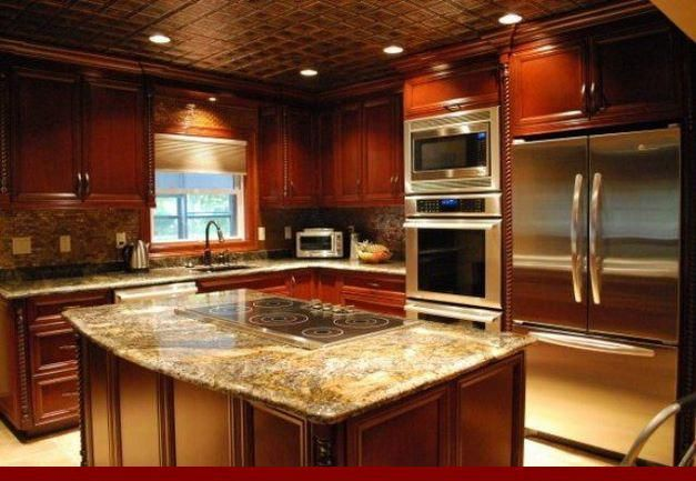 Significance of - kitchens with grey walls and oak ...