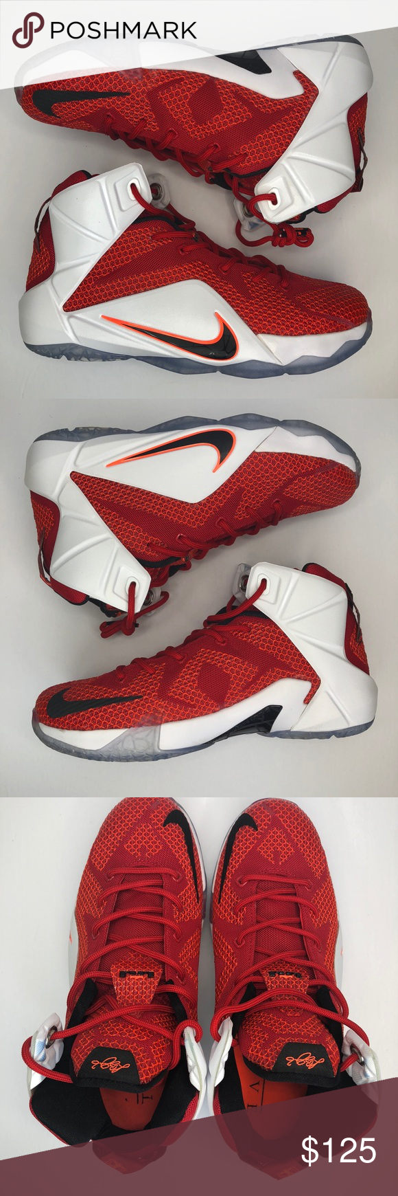 hot sale online 0d4ec aee06 Nike Lebron XII (12) Lion Heart size  6.5 kids Nike Lebron XII (12) Lion  Heart Size  6.5 kids Condition  9 10 Worn 3x Comes with original box 100%  Authentic ...