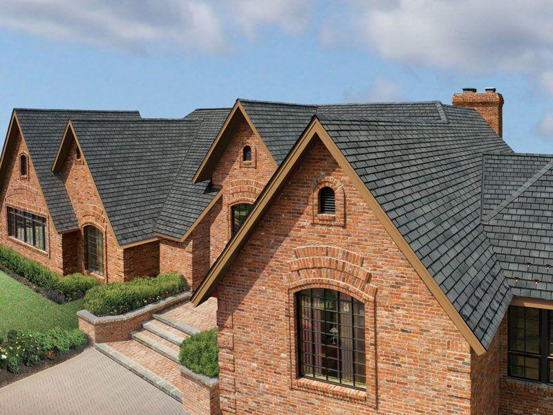 Antique Slate Gaf Designer Roof Shingles Home