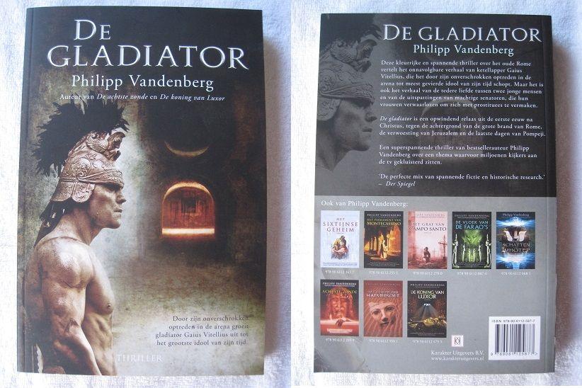 Boek Der Spiegels : De gladiator philipp vandenberg. isbn 978 90 6112 587 7 karakter