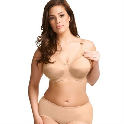 21a3f3ba6 Elomi Beatrice Soft Cup Nursing Bra EL8053 - Why compromise your look when  you become a mom  The plus size Beatrice bra offers the best of all worlds