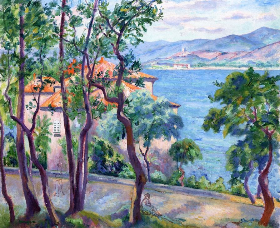 "Henri Manguin (18741949), ""Above the Oustalet View over"
