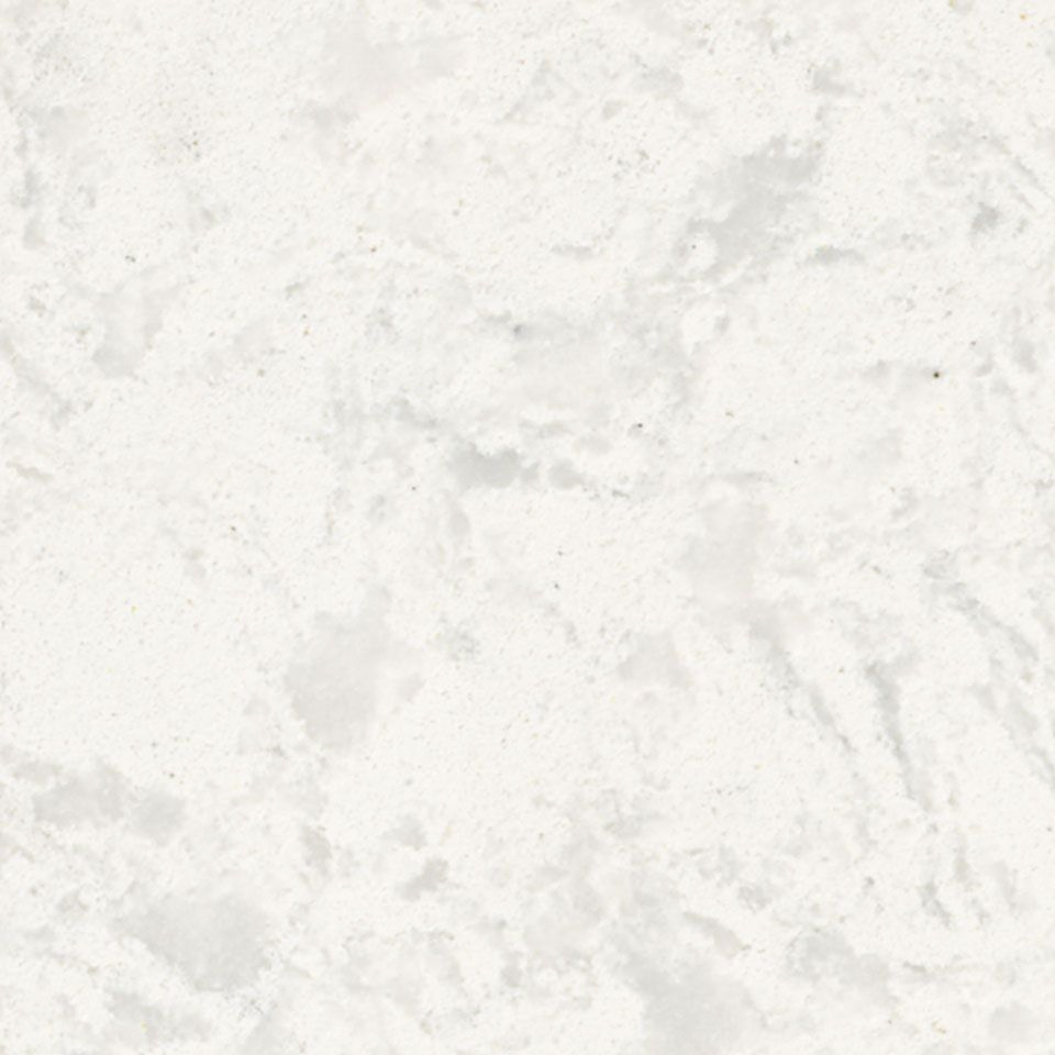 Glacier White Quartz countertop | Kitchen | Pinterest ...