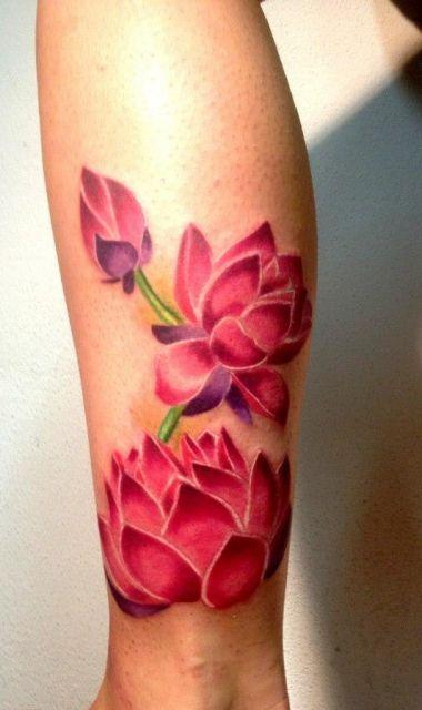 meine lotusbl ten tattoos pinterest farben t towieren und seerose. Black Bedroom Furniture Sets. Home Design Ideas