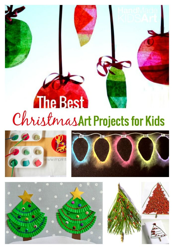 Christmas Preschool Art Projects.The Best Christmas Art Projects For Kids Hand Made Kids