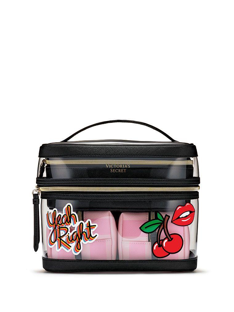 9ed8897da31d Victoria's Secret VS Patch 4-in-1 Beauty Bag Set | Products in 2019 ...