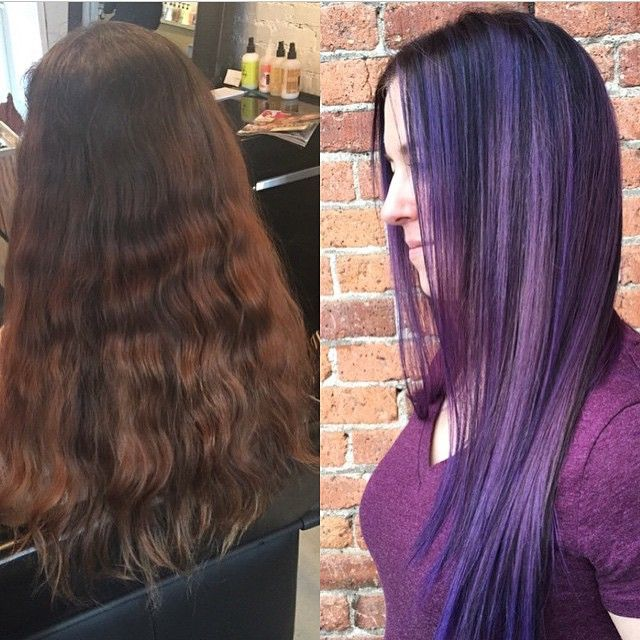 Before + after by Deanna Westland > Theory Hair Salon > Montana