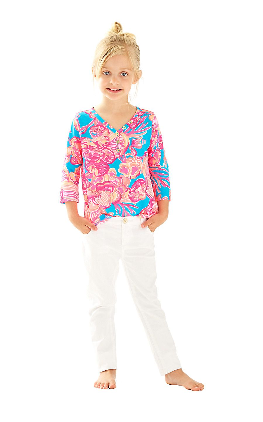 e6caa3f132fc34 Mini Palmetto Tunic Top - Lilly Pulitzer | Lily for Kids | Tunic ...
