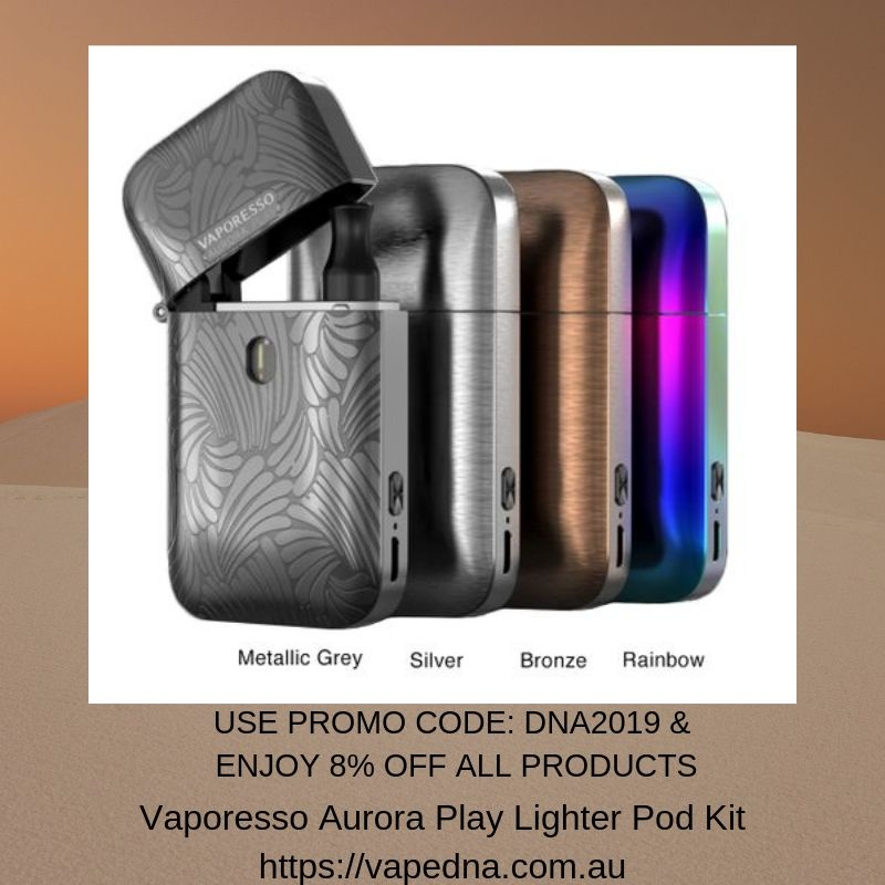 Vaporesso Aurora Play Lighter Pod Kit in 2019 | Accessories