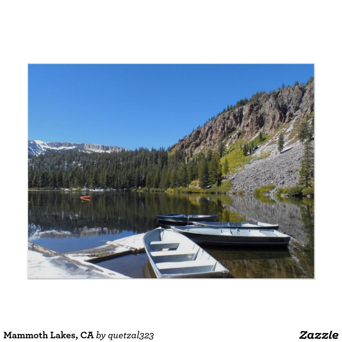 Mammoth Lakes, CA Poster (With images