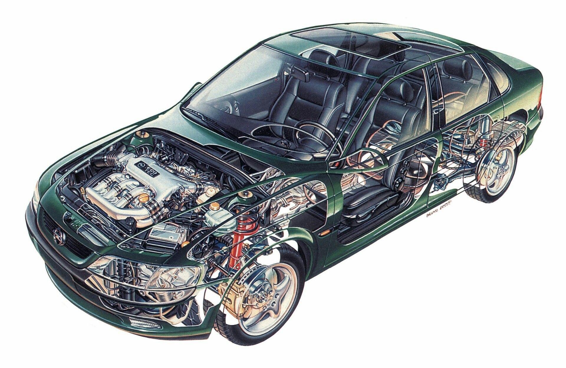 95er Opel Vectra Carros Chevette Auto