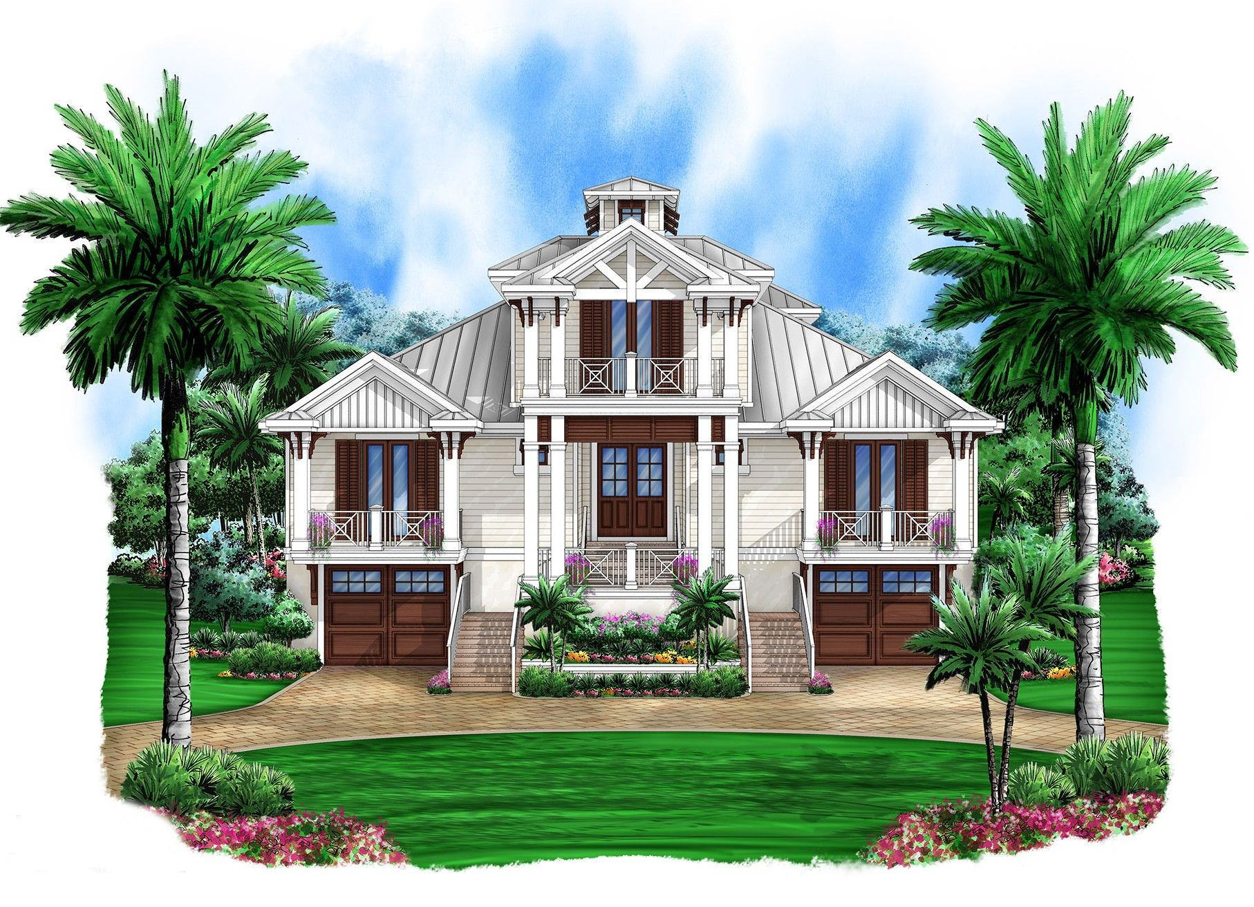 Plan 66323we Smashing Coastal Retreat Coastal House Plans Beach Style House Plans Beach House Floor Plans