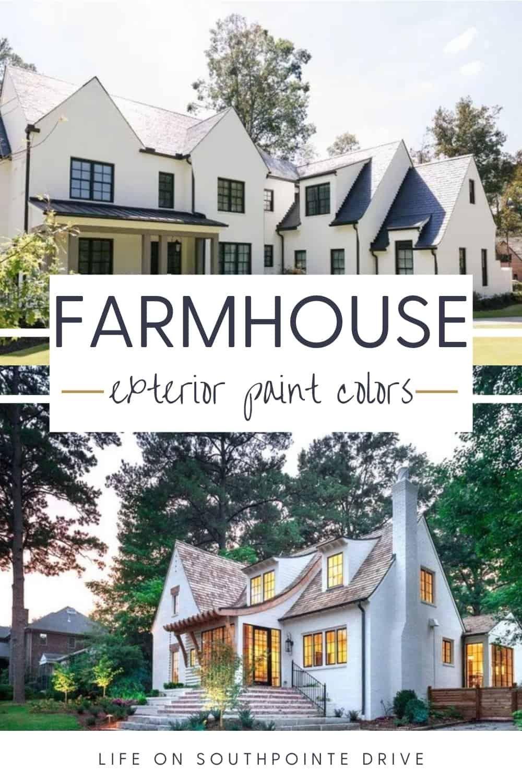 most popular exterior paint colors modern farmhouse on most popular interior house colors id=45524