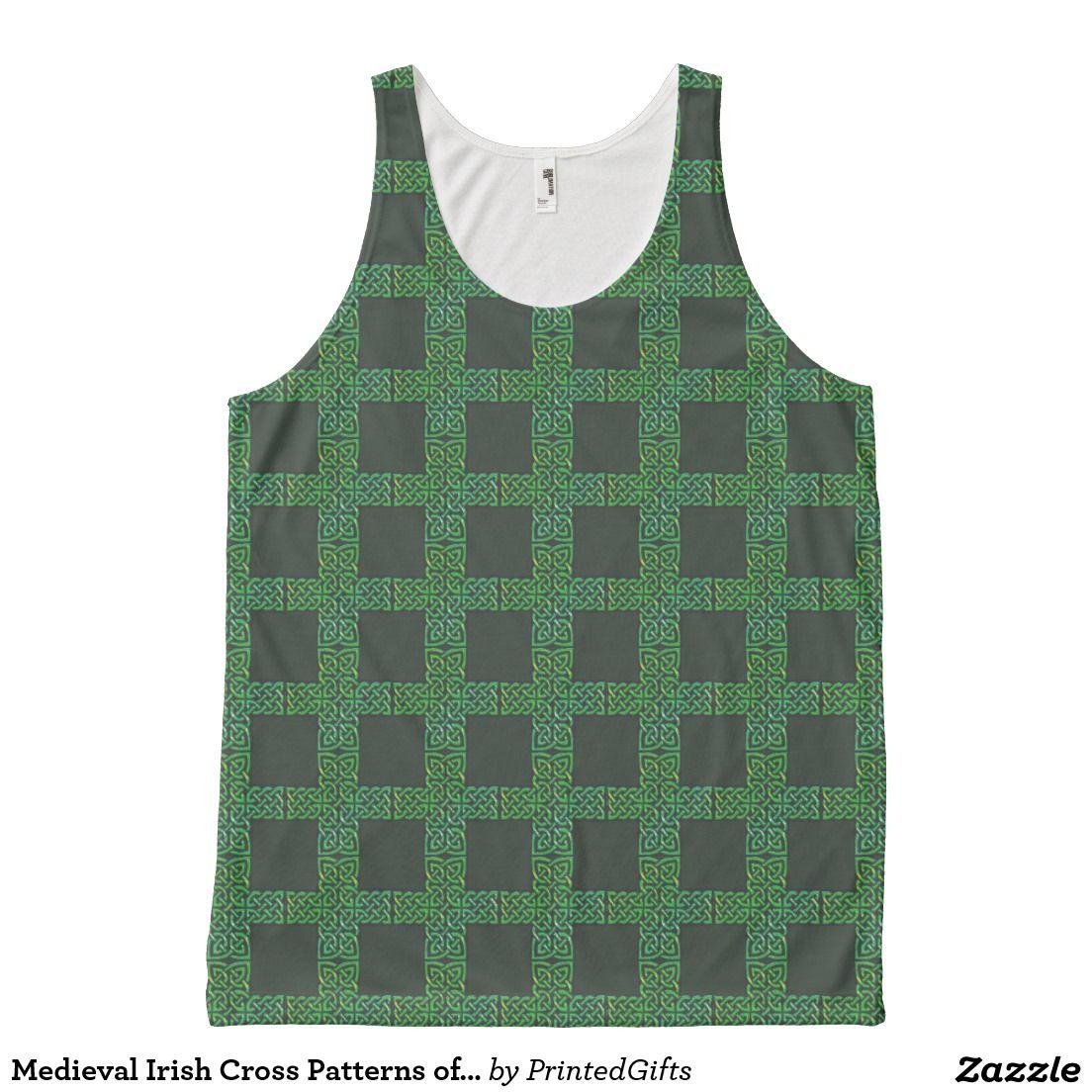 Medieval Irish Cross Patterns of Celtic Knots
