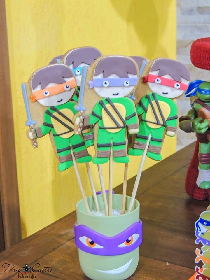 Que Amor Esta Festa Tartarugas Ninjas Imagens Enviadas Pela Mamae