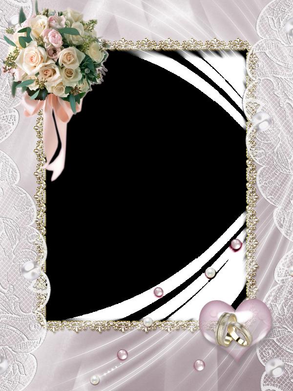 Beautiful Soft Transpa Wedding Photo Frame Frames Cards Photos