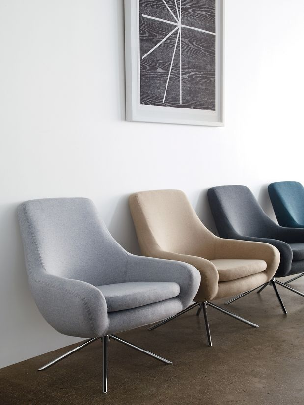 Design Within Reach Noomi Swivel Chair Seating
