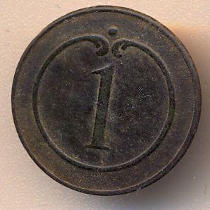 Bottone della giacca del 1 rgt. fanteria di linea francese
