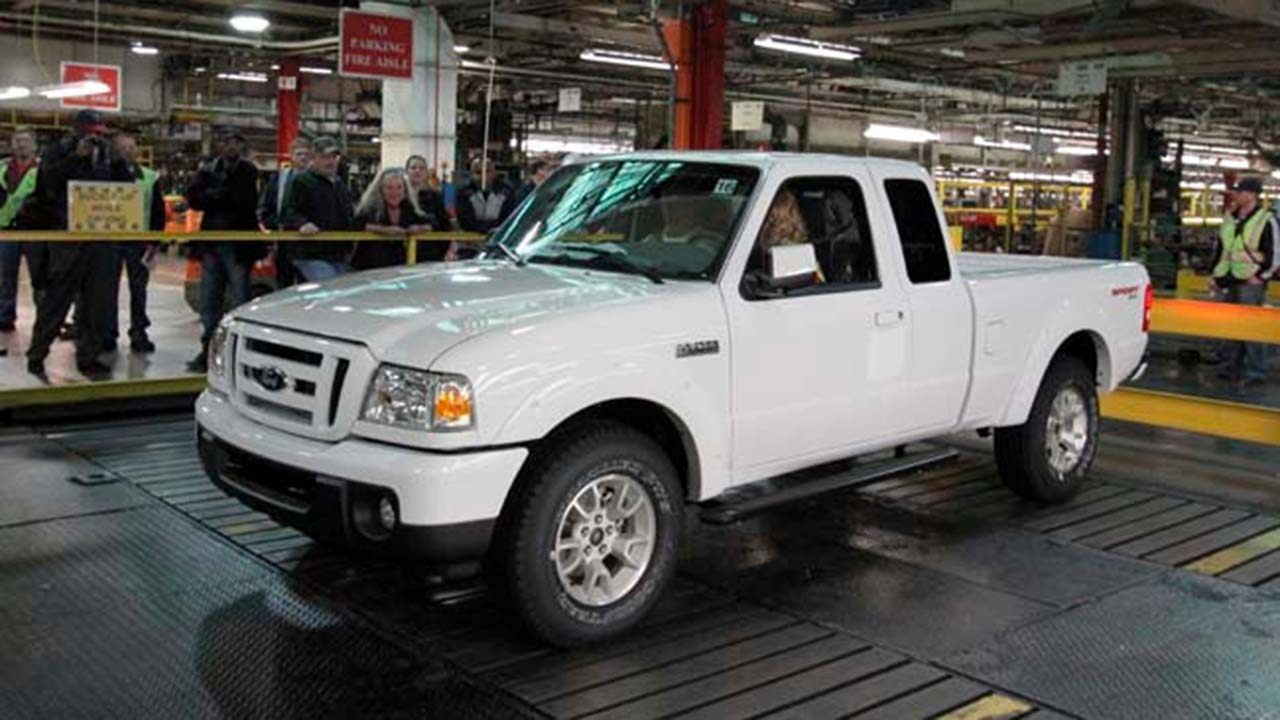 The Last Original Ford Ranger Has Been Exterminated With Images