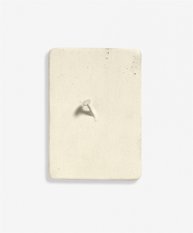 Günther Uecker: Traffic Paint, 1966. Nagel und Farbe für ...