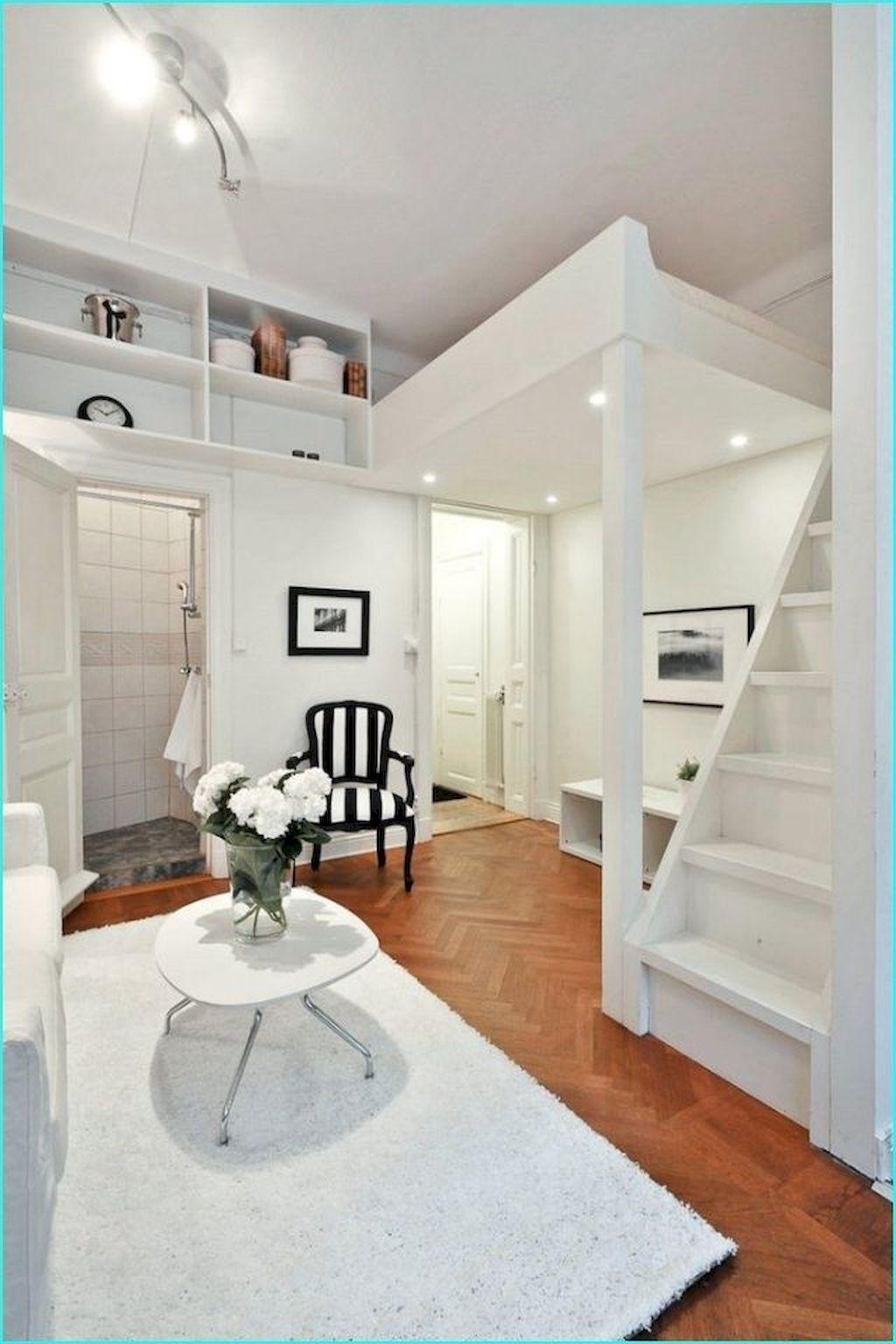 65 Clever Studio Apartment Decorating ideas Small studio