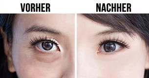 Una técnica japonesa extraordinaria hace que tus ojos se vean más jóvenes: solo necesitas un minuto