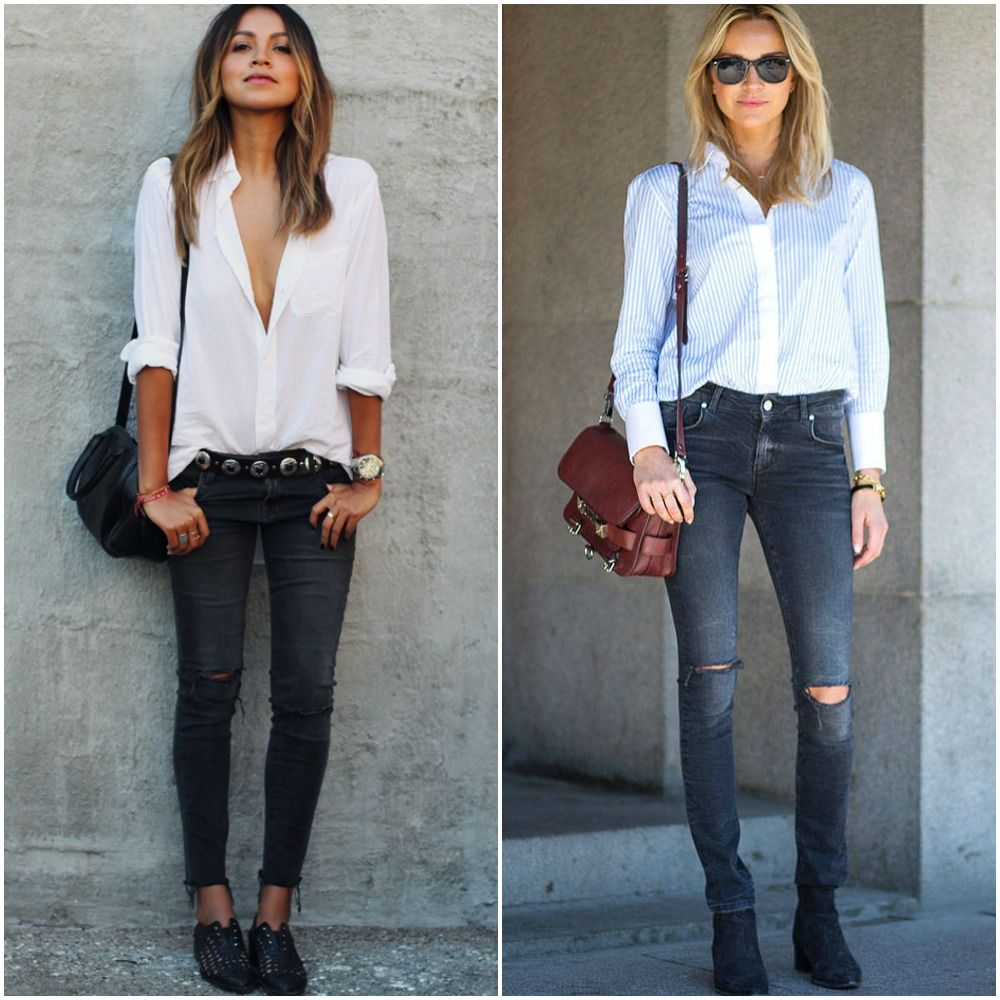 1000  images about Skinny Jeans And Ankle Boots For Fall on ...