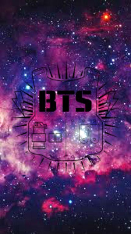 galaxy BTS logo | Fondos de pantalla, Fondos bts, Fondos