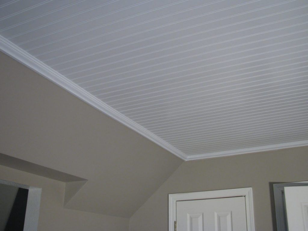 Beadboard Ceiling Installation For Your Interior The Pros And Cons Inspiration Home Magazine Beadboard Ceiling Panels Beadboard Basement Ceiling Ideas Cheap