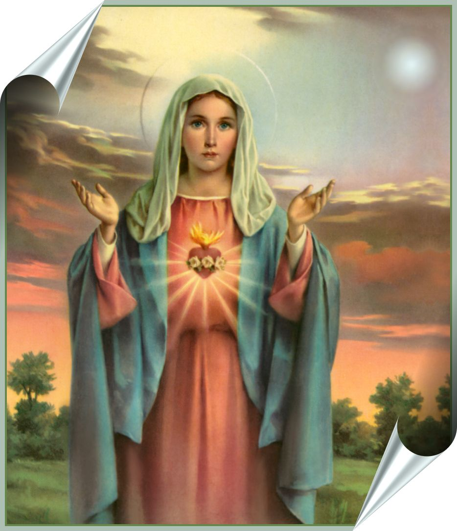 World wide celebrations of Mary's Feast Days almost one