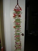 Toilet paper roll advent...