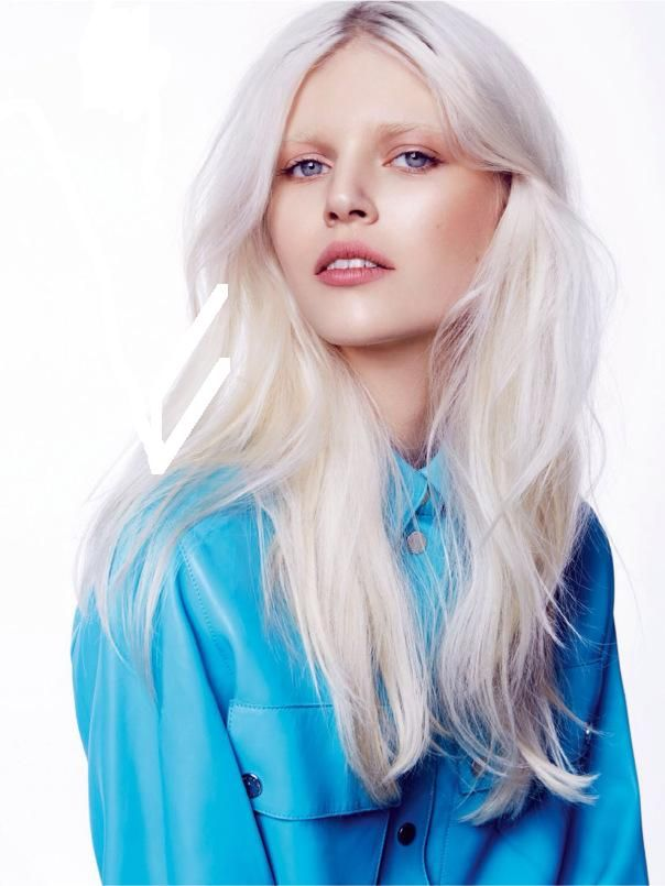 Ola Rudnicka By Gosia Macias For Elle Poland February 2014