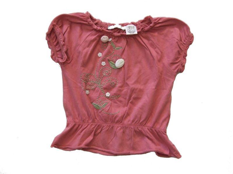 Ref. 900449- Camiseta MC - france- niña - Talla 3 años - 5€ - info@miihi.com - Tel. 651121480