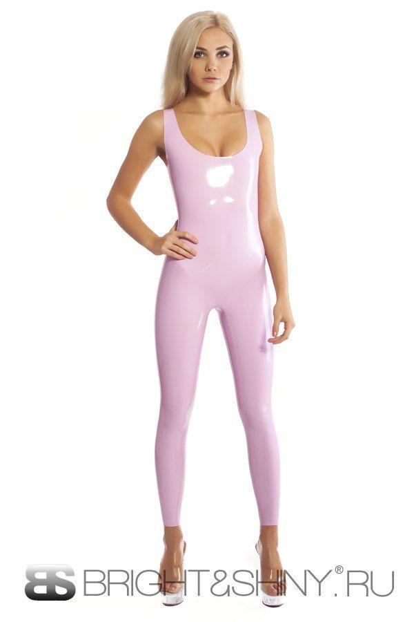 Femme Pin Up Faces Multi Color Long Sleeve Zip Up Bodycon Catsuit Jumpsuit S M