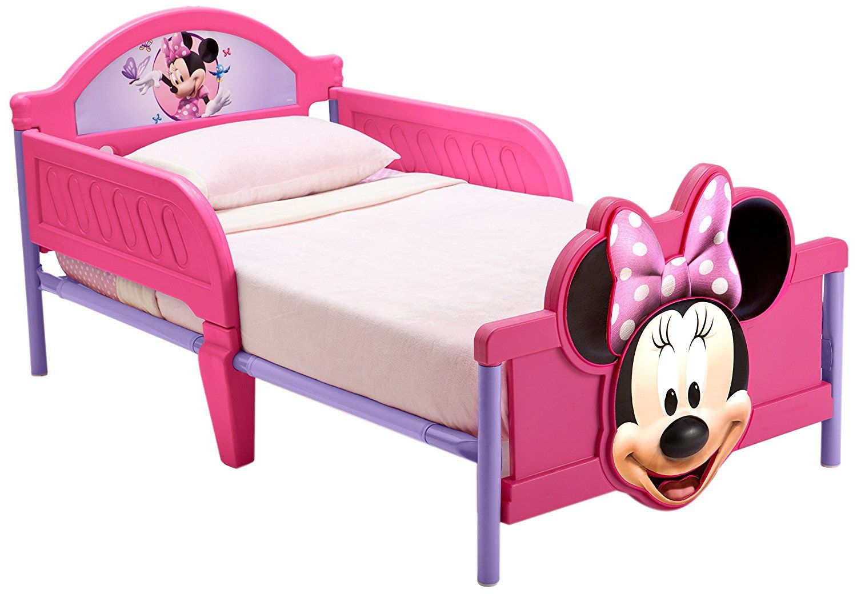 Kinderbett Mit Rausfallschutz minnie mouse kleinkindbett rosa kinderbett mit rausfallschutz